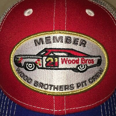 2017 NewEra RYAN BLANEY WOOD Ford BROTHERS Pit Crew Hat Cap Mesh Nascar