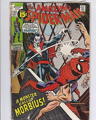 Amazing Spider-Man (1963 1st Series) #101 1st Appearance of Morbius Fair Read