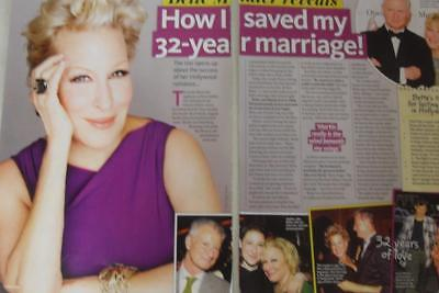 BETTE MIDLER* 2 Page Australian Magazine Clipping