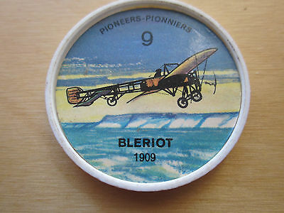 Canadian JELLO, HOSTESS COINS (1960) Aviation Planes Pioneer # 9 Bleriot