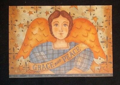 "Fridge magnet ""Grace and Peace"" angel"