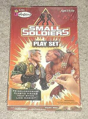 NEW SEALED Vintage SMALL SOLDIERS COLORFORMS SET - 23 Pieces  1998
