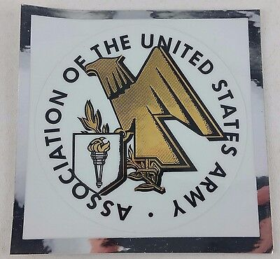 25 ASSOCIATION OF THE UNITED STATES ARMY Round Stickers Decal 3 Inch US Military
