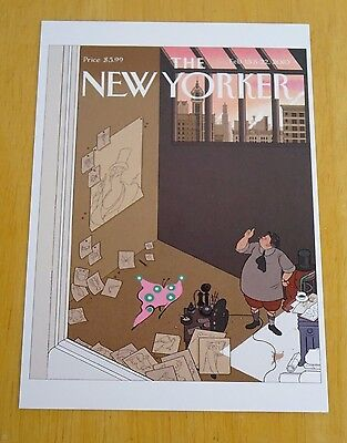 The New Yorker Postcard ~ Natural Selection ~ Chris Ware ~ 15 & 22 Feb 2010