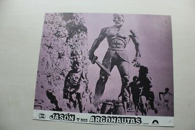 Jason & The Argonauts - Ray Harryhausen - Lobby Cards X 8