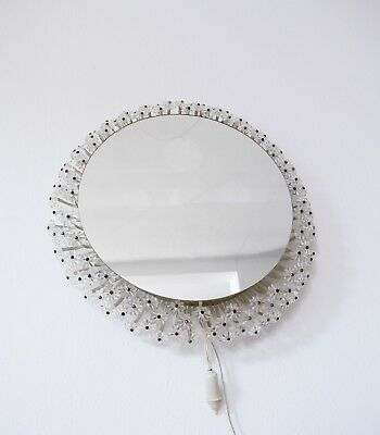 VINTAGE MID CENTURY 1960s ILLUMINATED MIRROR BY EMIL STEJNAR FOR RUPERT NIKOLL