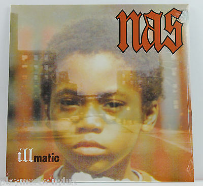 NAS Illmatic LP vinyl Europe 2006/7 Columbia New/Sealed!
