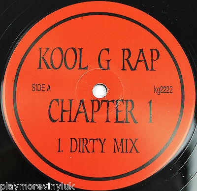 "KOOL G RAP Chapter 1 12"" US KG2222   NrMINT vinyl!"