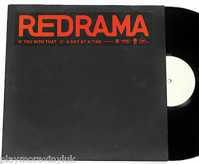 "REDRAMA If You With That/Day at a Time 12"" w/lbl Finland 2003 Fume/Virgin EXcond"