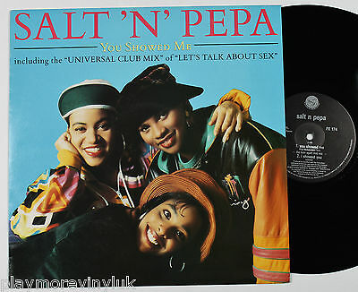 "SALT N PEPA You Showed Me (Born Again Club mix) 12"" UK 1991 ffrr FX174  EXcond!"
