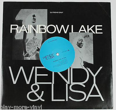 "WENDY & LISA Rainbow Lake 12"" DJ PROMO vinyl UK 1990 Virgin"