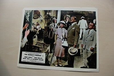 Hammer Horror - The Mummy's Shroud Uk Foh Lobby Card #7