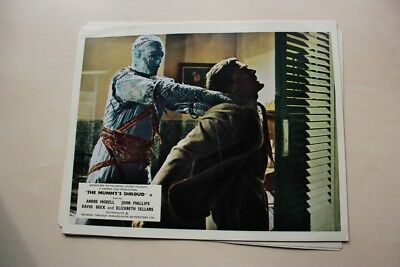 Hammer Horror - The Mummy's Shroud Uk Foh Lobby Card #1