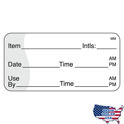 "DayMark IT110117 MoveMark Use by Removable Label, 1"" x 2"" (Roll of 1000), New"