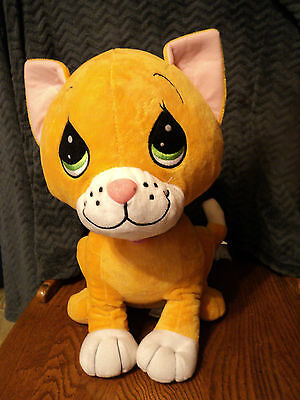 """Large Precious Moments Tender Tails Cat Plush 15"""""""