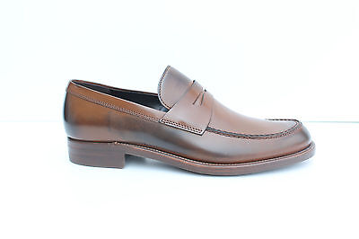 Loafers man Rossetti brown leather