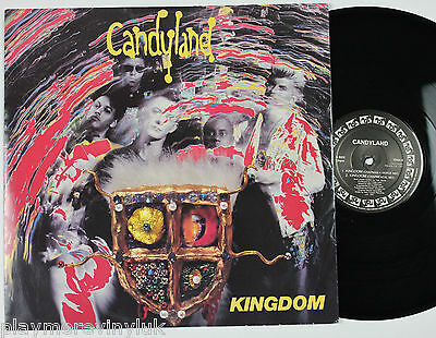 "CANDYLAND Kingdom 12"" vinyl UK 1991 Non Fiction YESX9"