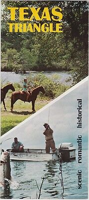 1960's The Texas Triangle Promotional Brochure