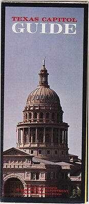 1967 Texas State Capitol Guide Promotional Brochure