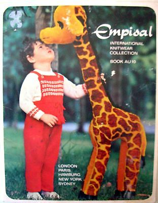 Empisal Knitting Machine Patterns Book AU10 - BABY DESIGNS - Lots of Choice