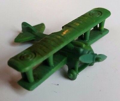 1962 Vintage Cracker Jack Prize Toy Put-Together Bi Plane
