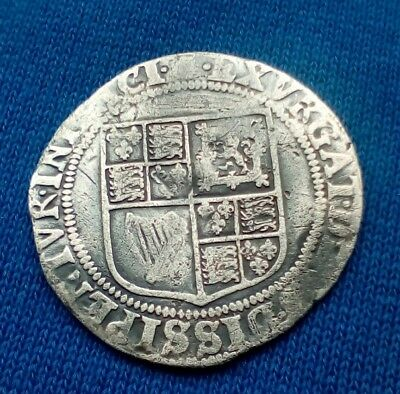 Hammered Silver Coin James 1st Shilling c 1606