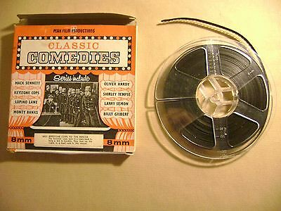 Vintage 8mm Film Classic Comedies Keystone Cops To The Rescue