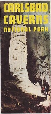 1950's Carlsbad Caverns Bus Tours Promotional Brochure