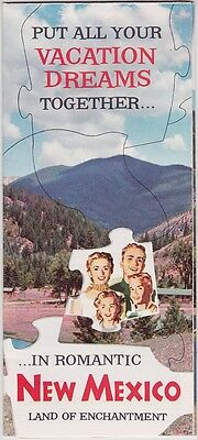 1950's New Mexico Vacations Promotional Brochure