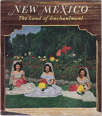 1940's New Mexico Promotional Tourism Booklet
