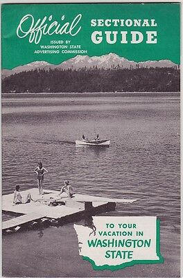 c1950 Washington State Sectional Guide Booklet