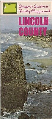 1960's Lincoln County Oregon Promotional Brochure