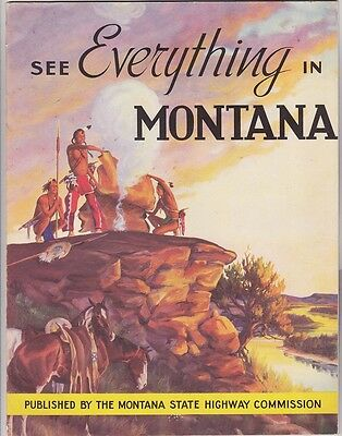 1950's Montana Highway Comm. Tourism Brochure