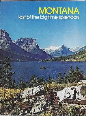 1973 Montana State Tourism Color Maps Booklet