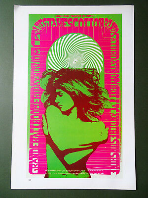 76 Psychedelic rock poster reproductions-$12 each - Fillmore BG, Family Dog FD