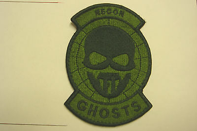 1 pc - SP FORCES GHOSTS RECON embroidered patch hook back