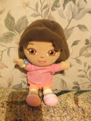 "2011 Viacom 8"" Plush Dora the Explorer doll - original tags - very clean"