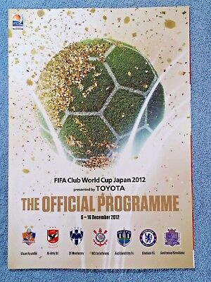 2012 - Fifa Club World Cup Tournament Programme - Chelsea