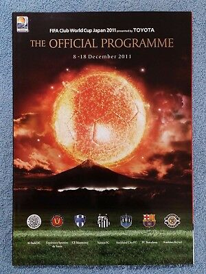 2011 - Fifa Club World Cup Tournament Programme - Barcelona