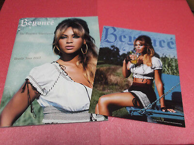 RARE! BEYONCE The Beyonce Experience Word Tour 2007 program Concert brochure