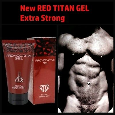 new red titan gel 2018 extra power for men size growth enhancement