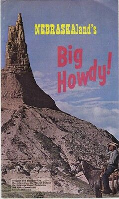 1964 Nebraska Land's Big Howdy Promotional Brochure