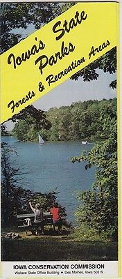 1960's Iowa State Parks Promotional Brochure
