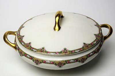 Limoges Elite Works Bawo & Dotter Bwd30 Beautiful Vegetable Covered Dish Look!!!