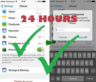 Bypass Icloud Removal For Activated Device Iphone 4 4S 5 5C 5S 6 6+ 6S Plus