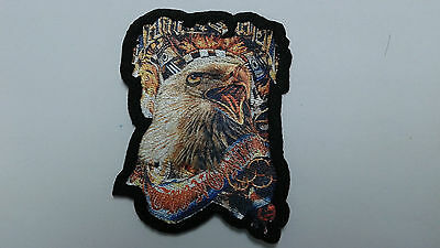 "1 pc -New SCREAMING EAGLE Emb. patch 2-1/8X2-3/4"" SEW/IRON ON"