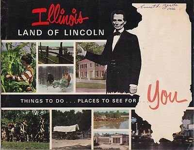 1960's Illinois State Tourism Promotional Booklet
