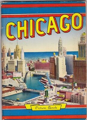 1950's Chicago B/W Photographic Booklet