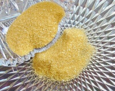 Real German Glass Glitter NEW 80 Grit early Sunflower 1 Ounce