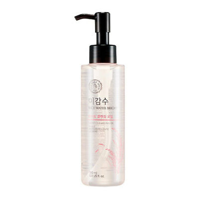 [The Face Shop] Rice Water Bright Cleansing Light Oil 150ml (Korean Cosmetics)